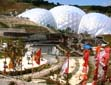 The Biomes and Flags at Eden Project